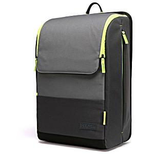 Подростковый рюкзак HTML модель U7 SPLIT цвет Black/Dark Grey-Lime