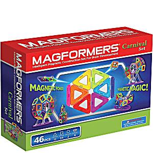 Магнитный конструктор Magformers Carnival Set 46 деталей артикул 63074