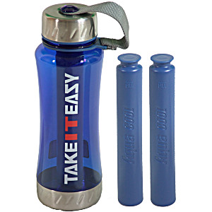 Бутылка для воды Take It Easy Синий