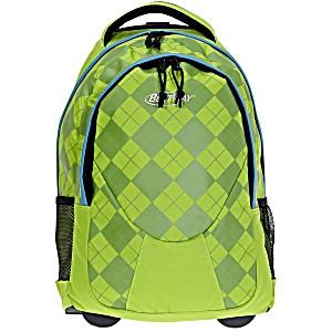 Универсальный школьный рюкзак на колесах Веstway 40028 цвет 3343 + дождевик