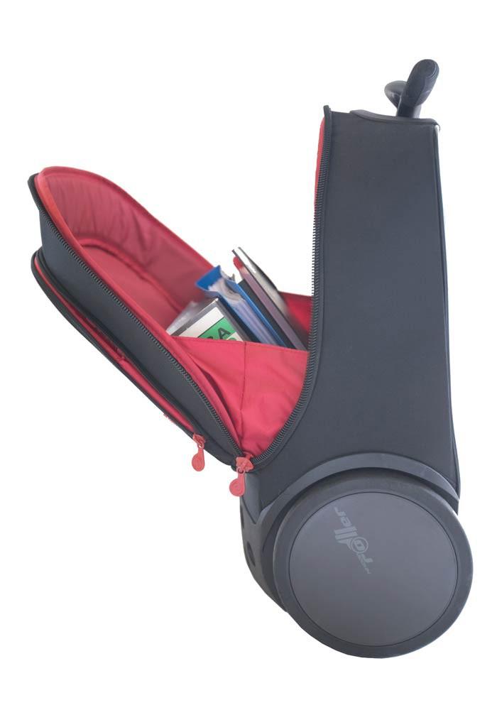 Рюкзак на колесиках Roller Nikidom White Fire XL арт. 9319 (27 литров), - фото 5